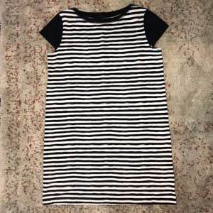 Lafayette 148 Striped Dress Jersey Knit